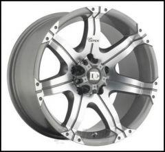 Dick Cepek Gun Metal 7 Wheel 17x8.5 With 5 On 5.50 Bolt Pattern In Gun Metal Grey Metallic 90000001376