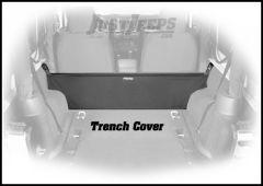 Dirtydog 4X4 Cargo Area Trench Cover For 2007-18 Jeep Wrangler JK 2 Door Models J2TR07R1BK