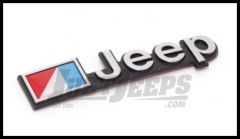 Omix-ADA Jeep Emblem Stick On For 1976-86 Jeep CJ Series Official MOPAR Licensed Product DMC-5451627