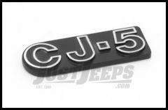 Omix-ADA CJ5 Emblem Stick On For 1973-83 Jeep CJ5 Official MOPAR Licensed Product DMC-5455179