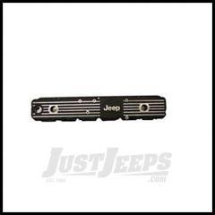 "Omix-ADA Valve Cover Aluminum For 1981-86 Jeep CJ Series & Wrangler YJ With 4.2L & Plastic Original (""JEEP"" Logo) DMC-6914"