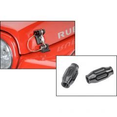DV8 Offroad Hood Hold Downs with Turnbuckles for 97-06 Jeep Wrangler TJ 12600TJ-