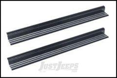 Drake Off Road Billet Aluminum Door Sill Plates For 2007-18 Jeep Wrangler JK 2 Door Models D-JP-18040-AL