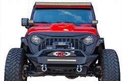 DV8 Offroad Replacement Grill For 2018+ Jeep Wrangler JL 2 Door & Unlimited 4 Door Models GRJL-01
