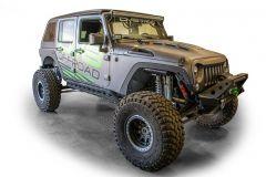 DV8 Offroad Fender Delete Kit Front & Rear For 2007-18 Jeep Wrangler JK 2 Door & Unlimited 4 Door Models FENDB-08