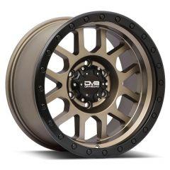 DV8 Offroad 883 Series Wheel in Bronze for 07-20+ Jeep Wrangler JK and JL, 99-21 Grand Cherokee WJ, WK & WK2 883A-7907312