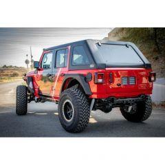 DV8 Offroad Ranger Fastback Hardtop for 18+ Jeep Wrangler JL Unlimited HTJLFB-B