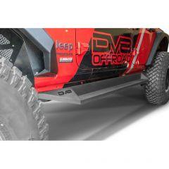 DV8 Offroad Slider Step for 18+ Jeep Wrangler JL Unlimited SRJL-04