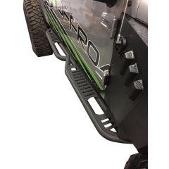 DV8 Offroad Rock Slider Steps for 07-18 Jeep Wrangler JK Unlimited 4-Door SRSOTB-06