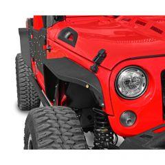 DV8 Offroad Slim Fenders for 07-18 Jeep Wrangler JK, JKU FENDB-06
