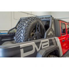 DV8 Offroad Stand Up In-Bed Tire Carrier for 20+ Jeep Gladiator JT TCGL-02