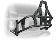 DV8 Offroad Body Mounted Tire Carrier For 2018+ Jeep Wrangler JL 2 Door & Unlimited 4 Door Models TCJL-02