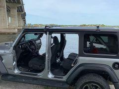 Exposed Racks Low Profile Hardtop Roof Rack Solid Black for 18+ Jeep Wrangler JL, JLU 8-00-9655-BK