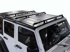 Exposed Racks Hardtop Tent Roof Rack for 07-18 Jeep Wrangler Unlimited JK 4-Door 8-00-97JKU-