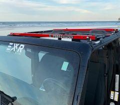 Exposed Racks Under Soft Top Roof Rack for 18+ Jeep Wrangler JL 2-Door & 20+ Gladiator JT 8-00-97JT-