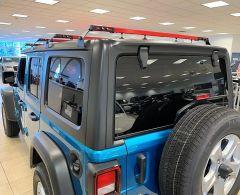 Exposed Racks 4pc Hardtop Tent Roof Rack for 18+ Jeep Wrangler JL, JLU & 20+ Gladiator JT 8-00-974JT-