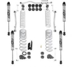 """Rubicon Express 2.5/3.5"""" Standard Arm Suspension Lift Kit with 2.5 Non-Resi Shocks For 2020+ Jeep Gladiator JT 4 Door Models JT7100NR"""