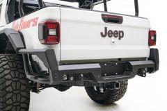 Fab Fours Rear Bumper (Black) for 2020+ Gladiator JT JT20-Y1950-1