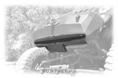 Rock-Slide Engineering Front Bumper Skid Plate In Textured Black For 2007-18 Jeep Wrangler JK 2 Door & Unlimited 4 Door Models FB-SP-100-JK