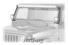 """Fishbone Offroad 52"""" Light Bar Bracket For 1997-06 Jeep Wrangler TJ & TLJ Unlimited Models FB21057"""