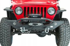 Fishbone Offroad Front Winch Bumper with LED's for 87-06 Jeep Wrangler YJ, TJ FB22016
