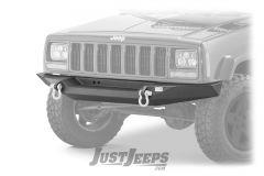 Fishbone Offroad Bullhead Front Bumper For 1984-01 Jeep Cherokee XJ Models FB22059-