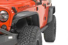 Fishbone Offroad Aluminum Tube Fenders in Textured Black Powder Coat for 07-18 Jeep Wrangler JK, JKU FB33006