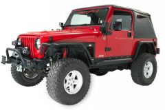 Fishbone Offroad Tube Fenders Front & Rear for 97-06 Jeep Wrangler TJ FB23029