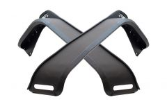 Fishbone Offroad Front Elite Fenders in Steel for 18+ Jeep Wrangler JL and 20+ Gladiator JT FB23194-