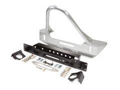 Genright Off Road Stinger Front Bumper - Aluminum For 2007-18 Jeep Wrangler JK 2 Door & Unlimited 4 Door Models FBB-8145