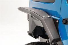 Fab Fours Full Width Rear Fender Flares for 07-18 Jeep Wrangler JK, JKU