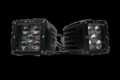 "Vivid Lumen V-Spec Street Legal: 3"" Driving Light Kit (Pair) Sae/Dot VSPHB"