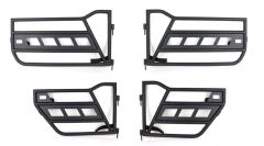 Fishbone Offroad Front and Rear Tube Doors For 2007-18 Jeep Wrangler JK Unlimited 4 Door Models FB24022