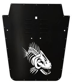 Fishbone Offroad Hood Louver for 07-18 Jeep Wrangler JK FB31133-