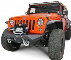 Fishbone Offroad Manowar Front Bumper for 07-18 Jeep Wrangler JK, JKU FB22045