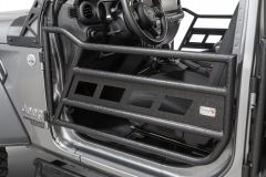 Fishbone Offroad Front Tube Doors for 18+ Jeep Wrangler JL & 20+ Gladiator JT FB24087