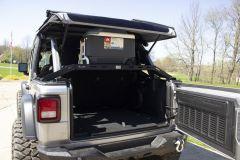 Fishbone Offroad Interior Storage Rack for 18+ Jeep Wrangler JL Unlimited 4-Door FB25113