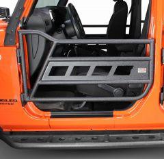 Fishbone Offroad Front Tube Doors for 07-18 Jeep Wrangler JK, JKU FB24023