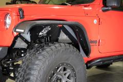 Fishbone Offroad Aluminum Inner Fenders for 18+ Jeep Wrangler JL & 20+ Gladiator JT FB33108-