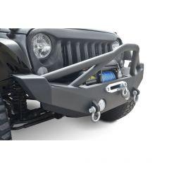 DV8 Offroad FS-12 Hammer Forged Front Bumper for 07-20+ Jeep Wrangler JL, JK & Gladiator JT FBSHTB-12