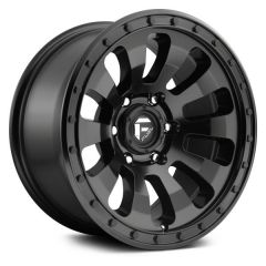 Fuel Off-Road Tactic D630 Wheel, 20x9 with 5 on 5 Bolt Pattern - Matte Black - D63020907557