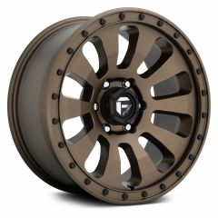 Fuel Off-Road Tactic D678 Wheel, 20x9 with 5 on 5 Bolt Pattern - Bronze - D67820907557