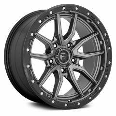 Fuel Off-Road Rebel 5 D680 Wheel, 20x9 with 5 on 5 Bolt Pattern - Anthracite / Black - D68020907557