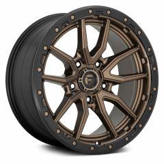 Fuel Off-Road Rebel 5 D681 Wheel, 20x9 with 5 on 5 Bolt Pattern - Bronze / Black - D68120907557
