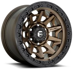 Fuel Off-Road D696 Covert Wheel in Bronze with Black Ring D696-