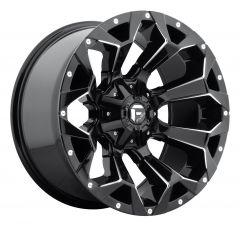 "Fuel Off-Road D546 Assault Wheel 20X10 in Gloss Black & Milled Finish 5X4.5"" & 5x5"" Bolt Patterns D57620002647"