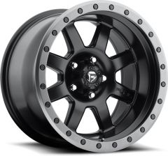 Fuel Off-Road D551 Trophy Wheel in Satin Black 17x8.5 with 4.5in Backspace D55117856545