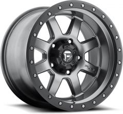 Fuel Off-Road D551 Trophy Wheel in Graphite 17x8.5 with 4.5in Backspace D55117856545