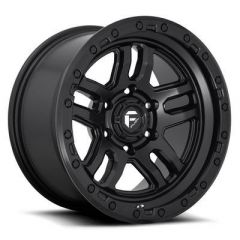 Fuel Off-Road D700 Ammo, 17x9 with 5 on 5 Bolt Pattern - Matte Black D70017907545