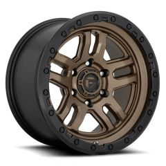 Fuel Off-Road Ammo D702 Wheel, 17x9 with 5 on 5 Bolt Pattern - Bronze / Black - D70217907545